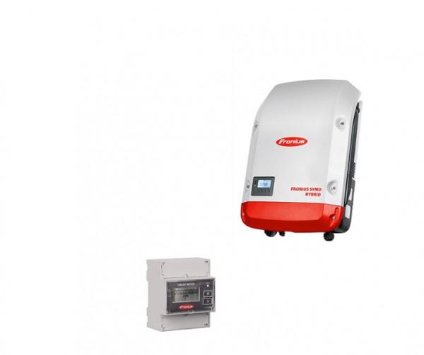 5,12 kW REC Photovoltaik Komplettanlage, Fronius Symo Hybrid ohne Batteriespeicher