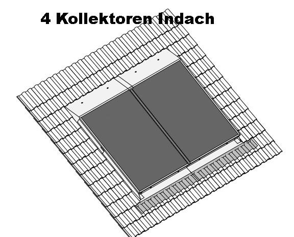 TOP Line Kollektor Paket KP 960 AR Indach inkl Circo 7 und Regler - ohne Speicher-