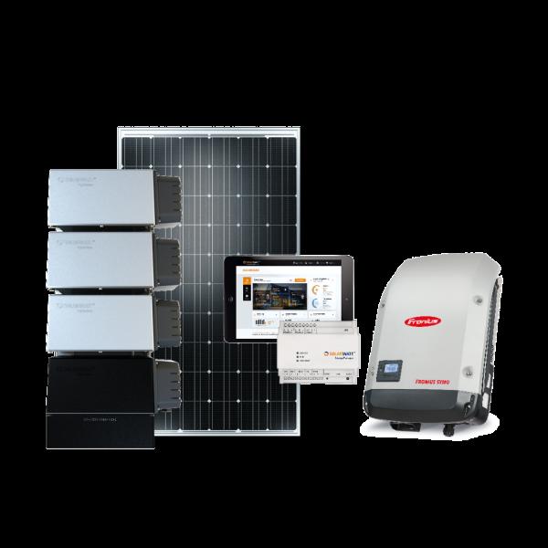 8,8 kW Solarwatt Komplettpaket (7,2kWh) 28x Vision 60M