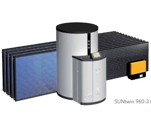 RC 960 AR Aufdach und ca. 3 kW LG Photovoltaikanlage (Suntwin) + 1000 Liter