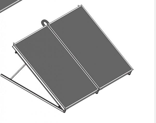 FRESH Line Solarheiz-Paket RF 960 AR Frei S 700 Liter Speicher inkl Zubehör
