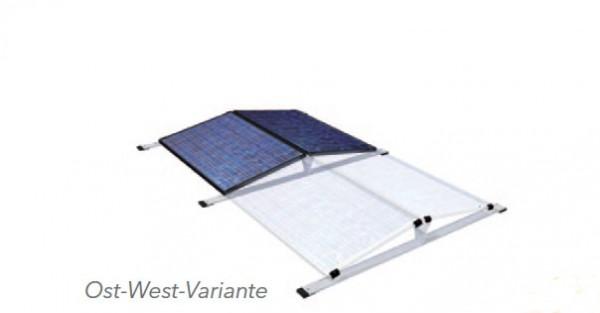 Ost/West 9,3 kW Heckert Photovoltaikanlage mit LG Speicher und Solaredge Wechselrichter