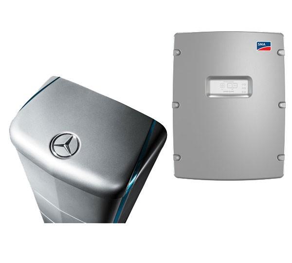 SMA Sunny Island SI 3.0M und Batterie Mercedes 5.0