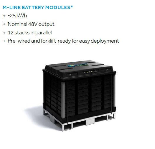 Aquion M110-LS83 Batteriepack 48V 30,6kWh