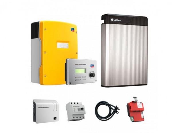 SMA Sunny Island SI 4.0M-11 und Batterie LG Chem RESU 6.5 ohne SunnyHomemanager