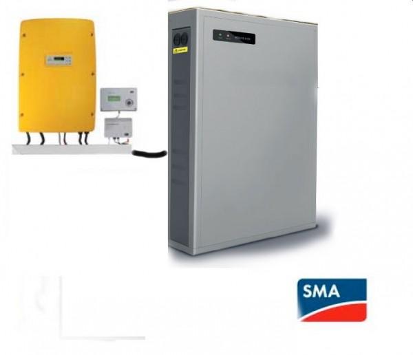 SMA Sunny Island SI 4.0M-11 und Batterie LG Chem RESU 6.4 ohne Homemangaer und Energiemeter