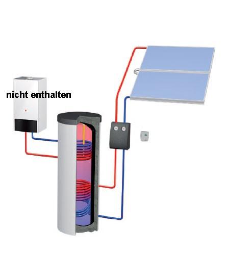 BASIC line Solar-Warmwasser-Paket BW 410 Audach plus Zubehör