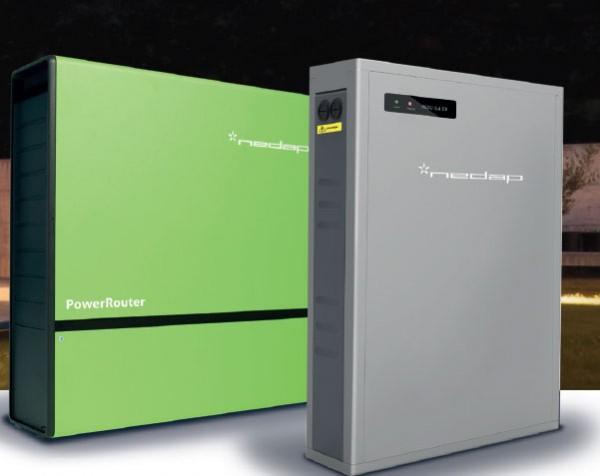 5,4 kW LG Photovoltaikanlage mit LG Resu 6.4 Speicher und Nedap Powerrouter