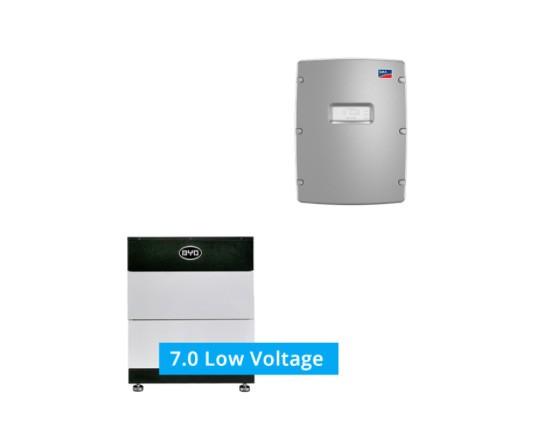 9,5 kW Axitec Photovoltaikanlage mit SMA und BYD Speicher