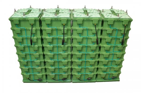 4x GREENROCK BA-S1-48 GREENROCK Batterie Stack 48V mit 2,7kWh