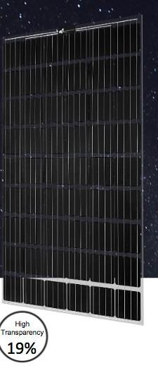10 x PV-Modul CSW-Brillant Glas-Glas, 275 MP 54 Laminat