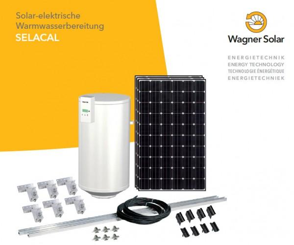 Solar-elektrische Warmwassererwärmung SELACAL poly 800