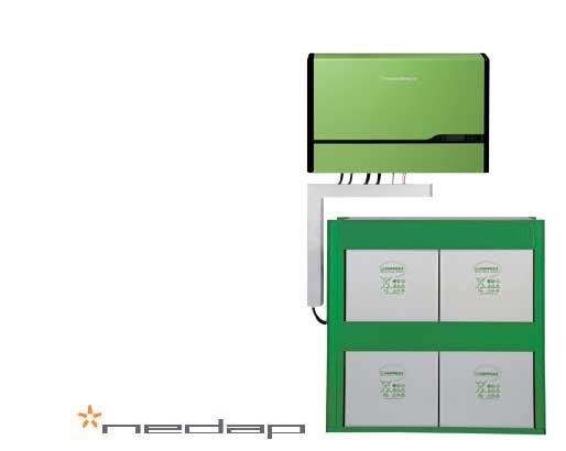Nedap PowerRouter PR50SB-BS/24 und 7,4 kWh Hoppecke, nutzbar 3,7 kWh