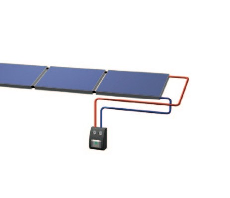 KP 1440 MQ AR Freiaufstellung für Flachdach ohne Solarspeicher